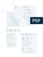 Further Practice - Linear Law Solutions