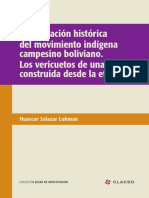 La formación histórica del movimiento indígena campesino boliviano. Los vericuetos de una clase construida desde la etnicidad
