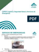 CAPEX Servicios de Emergencias