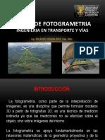 Curso de Fotogrametria