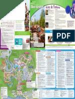 Mapa Magic Kingdom Portugues Abr 2016
