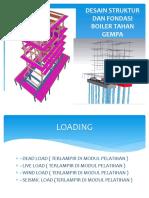 Desain Strukur Dan Pondasi Boiler ( Dengan Bantuan Program Staadpro Dan Afes )