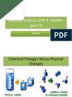NSc U4 Matter Part III