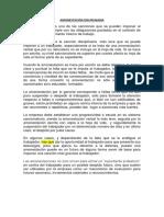 AMONESTACIÓN DISCIPLINARIA- trabajo.docx