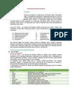 Material Informativo de Gestión de Residuos Sólidos