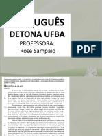Português Detona Ufba