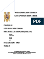 Formato de Despacho 2018-1