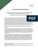 De Lima bill - Prisoner Protection.docx