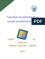 Plan Anual de Auditoría de La Calidad 2017