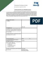 fire loss of profit (FLOP) Proposal