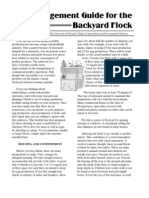 Management Guide for the Backyard Flock