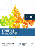 IVT_Statistics in Validation