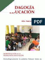 Educacion Pedagogia Ok