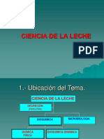 Bioquimica de La Leche 2016
