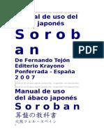 Manual de Uso Del Ábaco Japonés Soroban