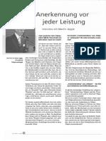 Jaeggle AnerkennungvorLeistung Interview WORT2008
