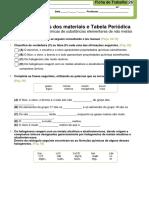Ficha_trabalho_26_Propriedades Químicas de Substâncias Elementares de Não Metais