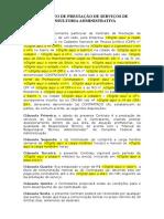CONTRATO DE PRESTAÇÃO DE SERVIÇOS DE CONSULTORIA ADMINISTRATIVA.doc