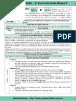 Plan 4to Grado - Bloque 2 Formación C y E (2016-2017)