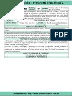 Plan 4to Grado - Bloque 2 Geografía (2016-2017)