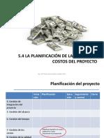 Administración de Proyectos Costos