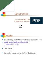 40 Java Puzzlers