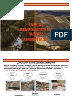 Fase de Remediacion de Pasivos Ambientales