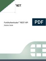FortiAuthenticator REST API