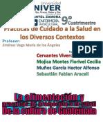Alimentacion y Practicas Promocion Salud Guatemala