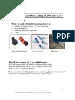 Auto Lock Installation 4.3