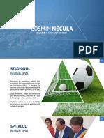Bilant-1 an de mandat Cosmin Necula