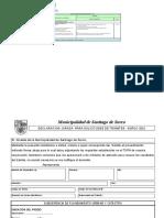 Certificado de Inmueble Municipal