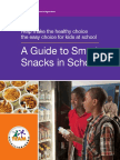 A Guide to Smart Snacks in Schools