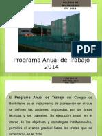Programa Anual de Trabajo 2014