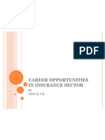 Career Opportunities in Insurance Sector