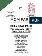 7.13.17 vs. BIR Stat Pack