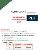 Lec 5 Complements