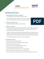 Perfiles IT Administrador de Base de Datos (DBA)