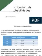 Distribución de Probabilidades