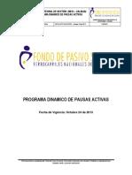 Programa Dinamico Pausas Activas