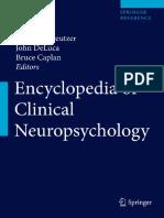 Encycl in Neuro Psy