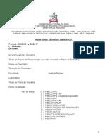 Modelo de relatorio da UFPA