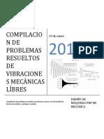 Compendio de Problemas Resueltos de Sistemas de Vibraciones Libres