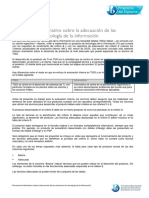 Documento Informativo Sobre La Adecuación de Las Soluciones de Tecnología de La Información
