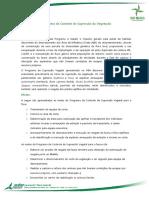 01 Importancia e Objetivos Do Programa de Controle de Supressao Da Vegetacao
