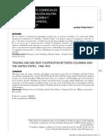 Acuerdos Comerciales y Cooperación Militar Colombia - Estados Unidos - 1946-53_ Prieto 2013