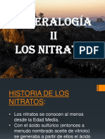Mineralogia II - Nitratos