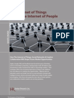 Harbor Research - Internet of Things Meets Internet of People