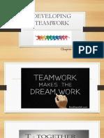 Developing Teamwork (Latest)