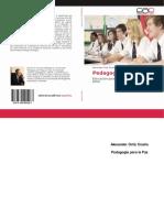 Libro Pedagogía Para La Paz